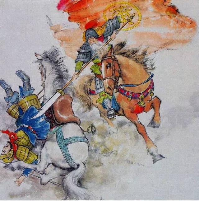 [交锋]古装剧中武将阵前交锋的情节,在历史上是否真实存在过