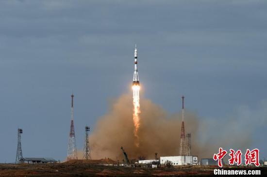 """『顺利』俄""""联盟MS-16""""飞船与国际空间站顺利对接"""