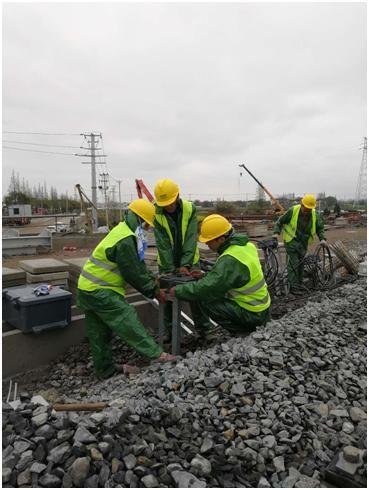 中国通号上海工程局集团济南分公司在重点工程项目中开展劳动竞赛