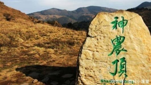 全国十大著名的4A景区,神农顶风景区不仅是国家级自然保护区