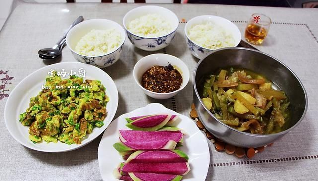 「负担」晒晒我家午餐,此食材一出现,不担心长肉,消化快,肠胃没负担