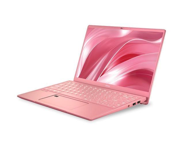 【推出】微星推出Prestige 14玫瑰粉限量版创意设计笔记本