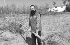 """""""泰安小美""""导游志愿者服务队开展春季植树护绿活动"""
