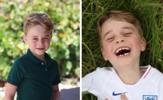 「夏洛特」路易小王子比乔冶还会做鬼脸!快满2岁愈来愈萌,还抢夏洛特可谓是