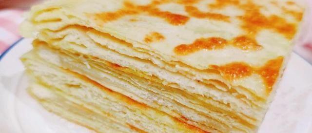 「食物」发面千层饼教你这样做,层层分明薄如纸,外酥里软又劲道,特解馋