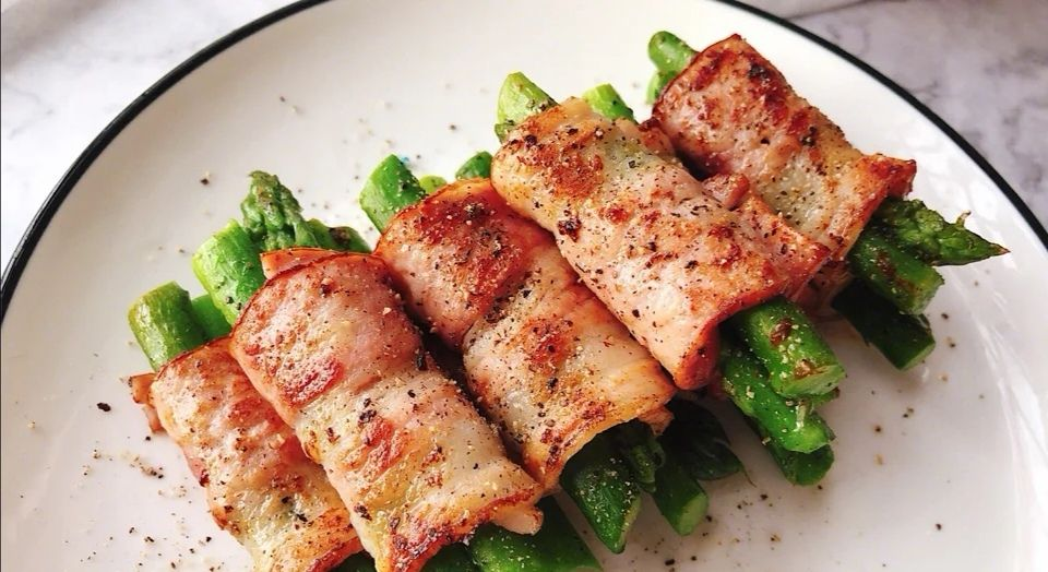 『日常』芦笋培根的神仙搭配,在家就可以享受的精致烧烤,零难度的日常快