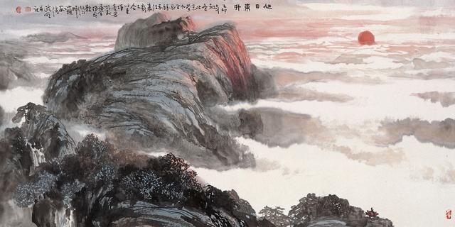 广东普宁陈政明水墨人物画21幅,值得欣赏