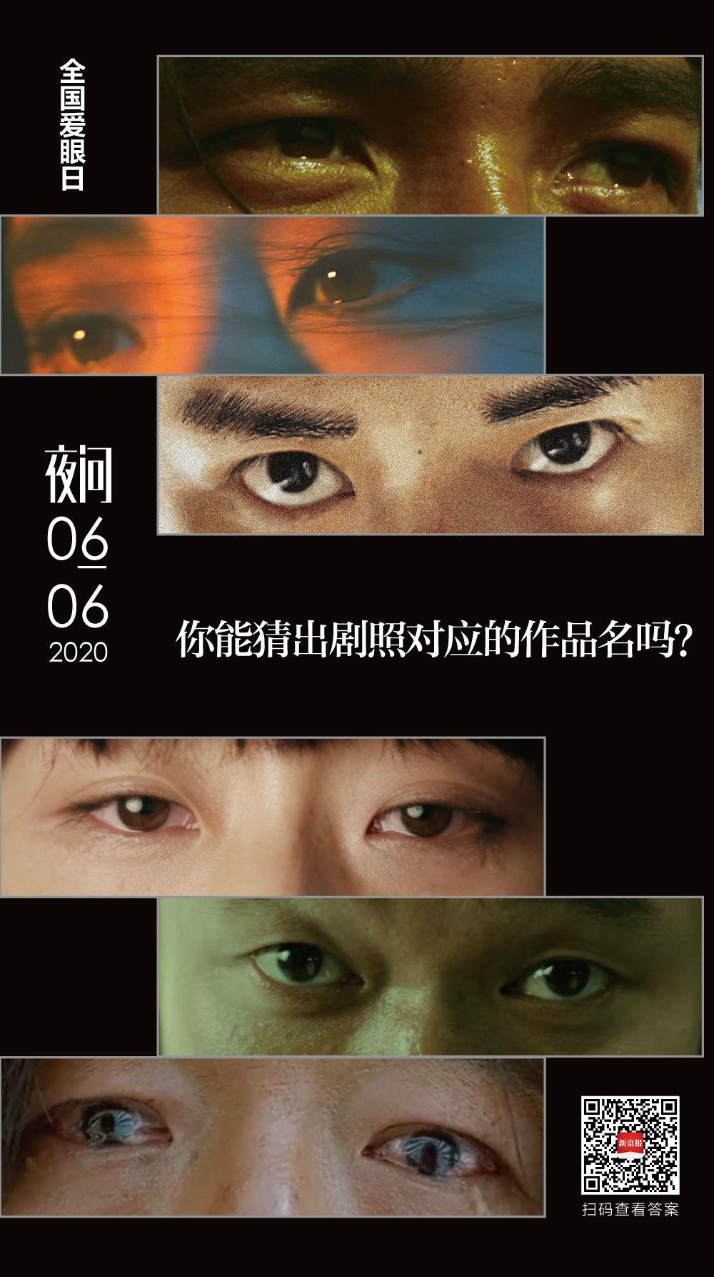 #眼睛#你知道这些眼睛里的故事吗?丨夜问