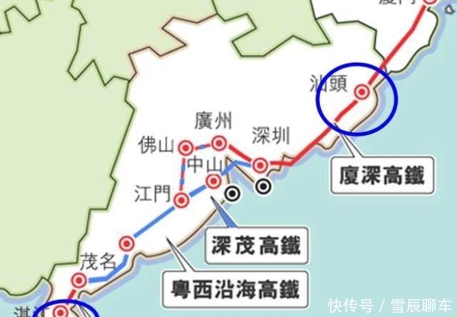 广东下一批高铁规划枢纽中心名单,这2个城市榜上有名