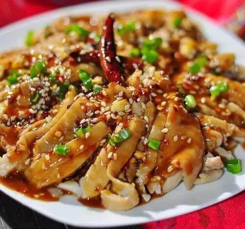 菜谱:奇味鸡腿,香菇炒芦笋,红烧海参