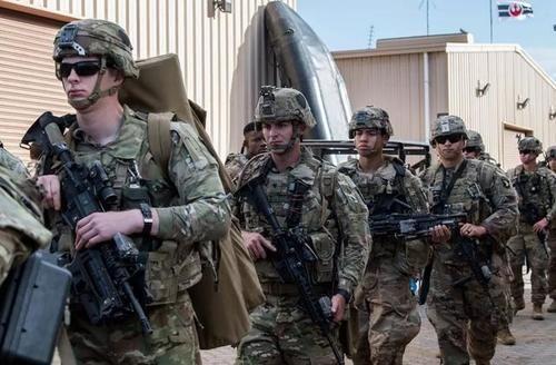 第三次世界大战中东和美国