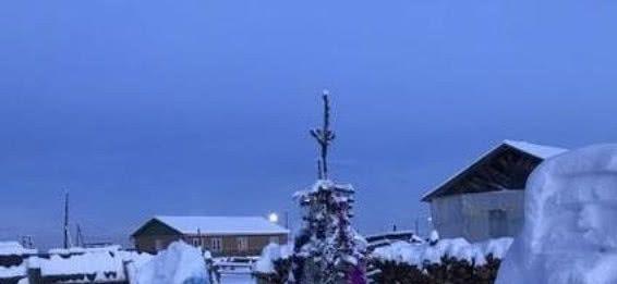 俄罗斯最冷的村庄,气温最低可达零下71.2度,不服你可以去试试看