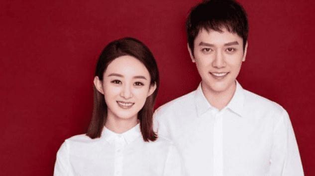发现:看了冯绍峰和倪妮合影照片,再看一下冯绍峰和赵丽颖合影照片,你发现什么了?