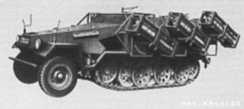 『德军』陆地斯图卡:二战德军40式自行火箭炮,所到之处一切灰飞烟灭
