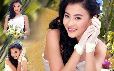 张柏芝罕见婚纱照曝光惊呆了网友, 网友的评论又伤害了一次王菲