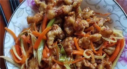 #小孩子#它是地道东北名菜,色泽金黄,口味酸甜,用来宴客很有面子!