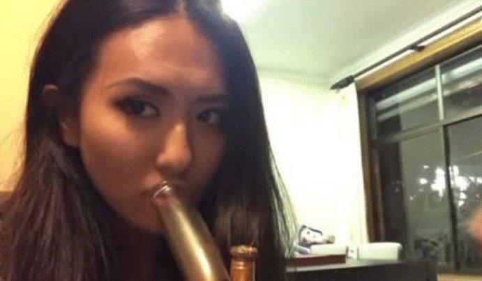 女艺人网上晒自己吸毒视频,嚣张扬言警察都拿我没办法