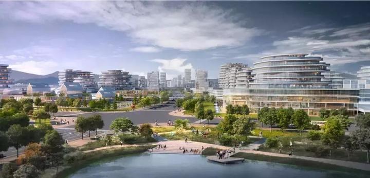 省人民医院富阳院区签约落户江南新城