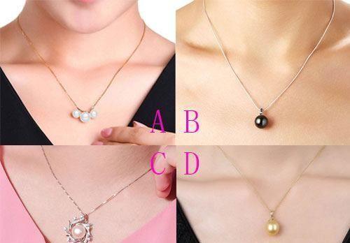 心理测试:选一条珍珠吊坠,测你的初恋心中还有你?