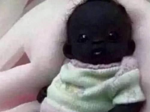 最黑的小孩_世界上最黑小孩 遭網絡瘋傳 照片可能 被PS