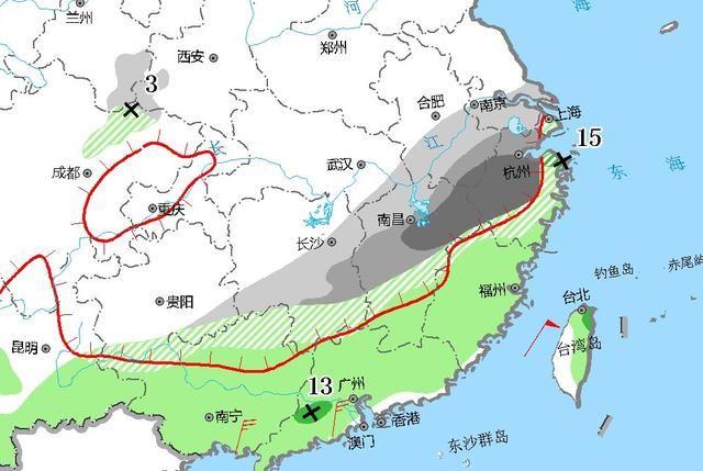 寒潮威力强劲,南方大雪下到广西!雪还要下进广东福建