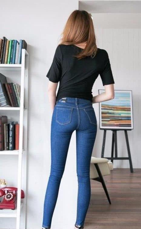 经典的天蓝牛仔裤 - 从头再来 - 至卓飞高