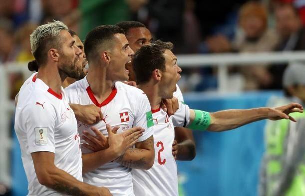 世界杯E组:瑞士2-1绝杀塞尔维亚