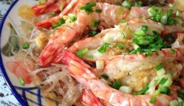 『粉丝』经典家常菜,蒜蓉粉丝虾最简单的方式,营养美味,大人小孩都喜欢吃