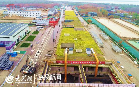 """济南黄河隧道工程取得阶段性进展 已进入""""穿河模式"""""""
