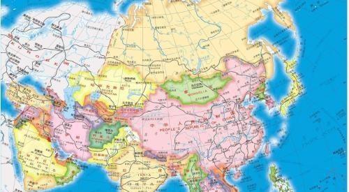 经济总量亚洲前五_亚洲地图