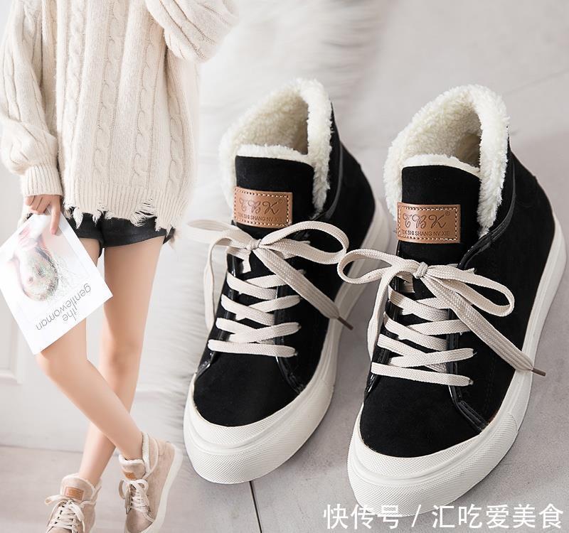 推荐:没想到,还有这种加绒女鞋比雪地靴还保暖又时尚,立冬后穿正好