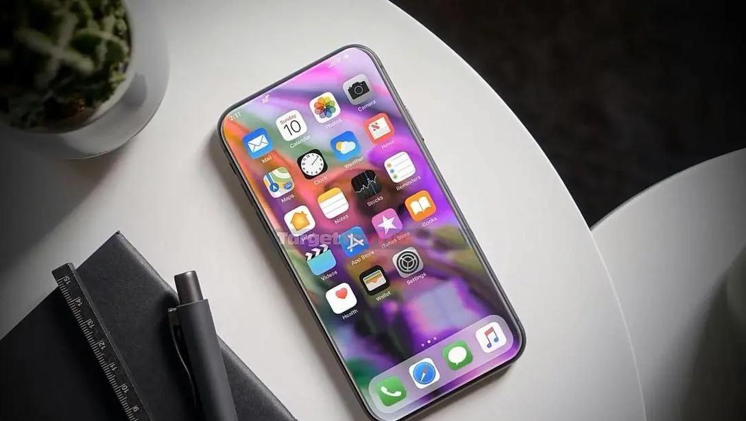 「iPhone12Pro」iPhone12Pro概念图:超大屏+无刘海真全面屏,惊喜是摄像头