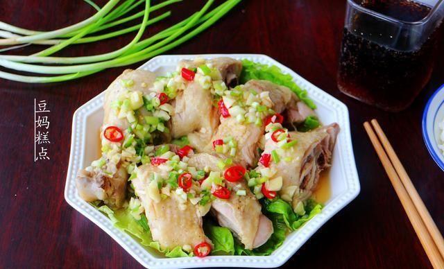 鸡腿■用电饭煲做葱油鸡,滑滑嫩嫩的,不用闻油烟!学会又是一道拿手菜