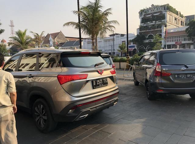 印尼版宝骏530实拍,换上五菱车标高大上,在印尼与CRV销量持平