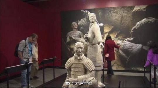 中國兵馬俑在美展出拇指被盜 中方要求美方嚴懲肇事者