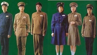 """『军战士军』1950年,新中国""""五�式军服""""诞生,干部和战士有什么不同呢"""