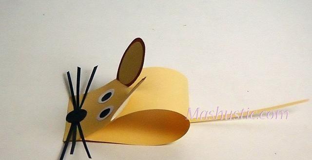 转帖:纸艺老鼠教程来了! 卡纸,折纸老鼠,你喜欢哪个 (4)