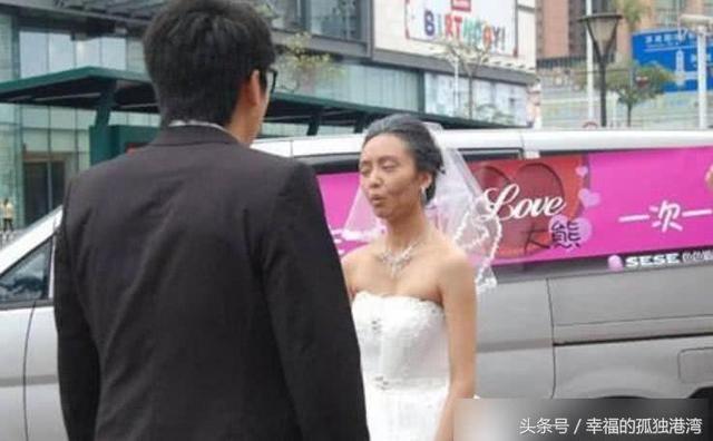 """抖音短视频新娘化妆变""""百岁老太之""""彩虹""""头发视频分享"""