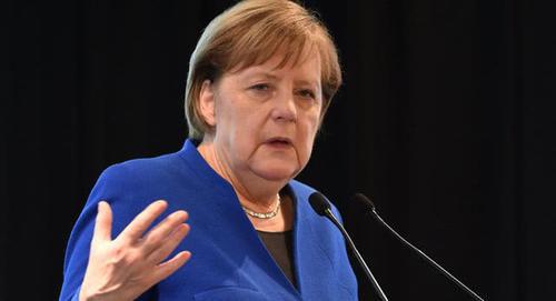 默克尔回应制裁威胁:美国手伸太长了,德国不是美国的管辖范围