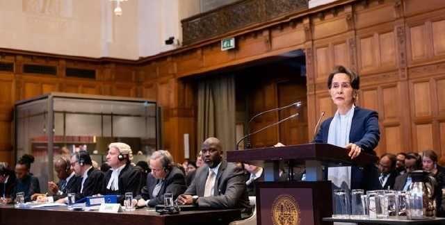 昂山素季赴国际法院抗辩有关缅甸实施种族灭绝指控