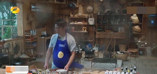 """『黄晓明的作』黄晓明太惨了!刚来""""蘑菇屋""""就遇上下冰雹,这是自带""""剧本""""啊"""