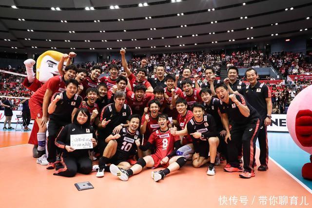 [转载]当中国男排还在为奥运资格苦苦挣扎,邻国日本已经闯进世界前四