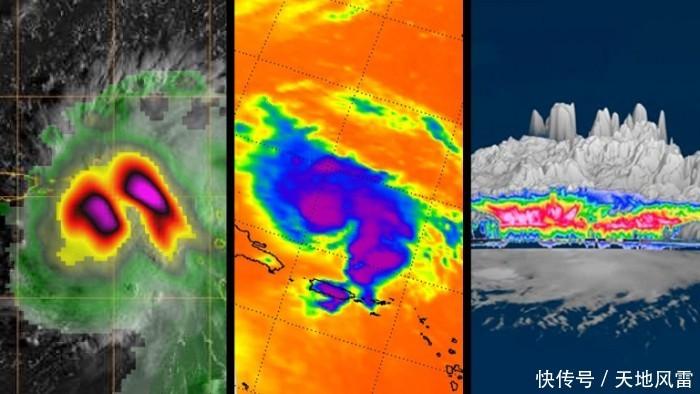 "<b>NASA卫星图像描绘了飓风""多利安""的可怕景象</b>"