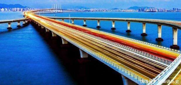 「規劃」這座大橋從規劃到通車用19年,耗資95億,每年通車4000