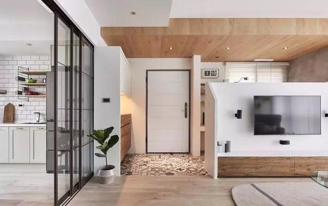 小户型也能打造大空间,客厅书房一体设计,把空间利用到极致!