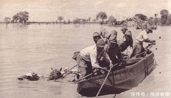 『决堤』花园口决堤,淹死了多少日本兵、淹死了多少老百姓?