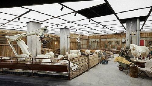[东风农场羊场怎么样]SKP开了个农场,被羊围观购物是什么感觉?